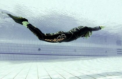 אליפות צלילה חופשית דינאמית ושיא ישראלי חדש