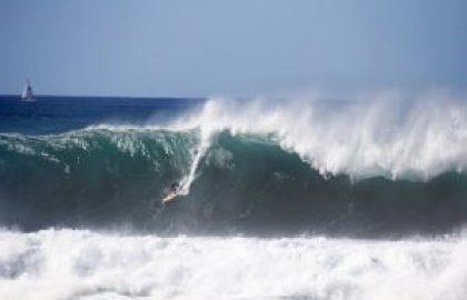 גלישת גלים בצלילה חופשית